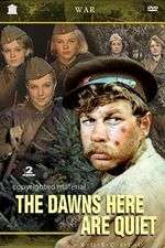 A zori zdes tikhie - The Dawns Here Are Quiet (1972) - filme online