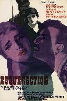 Voskreseniye – Resurrection (1960) – filme online subtitrate