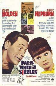 Paris When it Sizzles - Parisul zgomotos (1964) - filme online