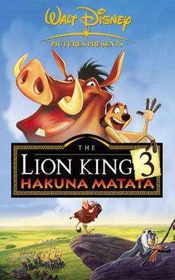 Filme online gratis: Lion King 3