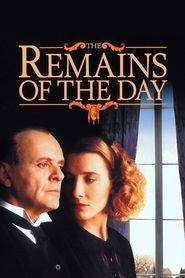 The Remains of the Day (1993) - filme online gratis