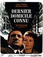 Dernier domicile connu - Ultimul domiciliu cunoscut (1970) - filme online