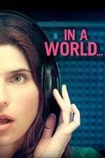 In a World... (2013) - filme online