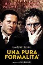 Una pura formalita - O simplă formalitate (1994) - filme online