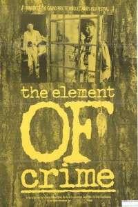Forbrydelsens element – The Element of Crime (1984) – filme online