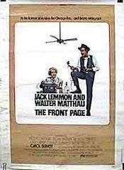 The Front Page (1974) - Filme online gratis