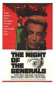 The Night of the Generals – Noaptea generalilor (1967) – filme online