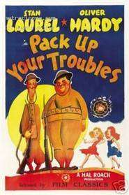 Laurel - Hardy - Pack Up Your Troubles (1932) - film online