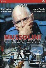Mussolini: Ultimo atto (1974) - Filme online