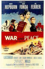 War and peace (1956) - Razboi si Pace  - filme online
