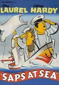 Saps at Sea - Laurel And Hardy (1940) - filme online ( color )
