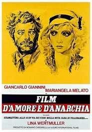Film d'amore e d'anarchia – Film de dragoste și de anarhie (1973) – filme online