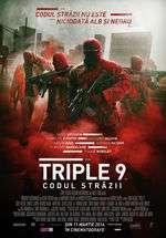 Triple 9 - Triple 9: Codul străzii (2016)