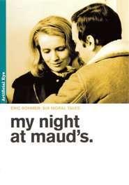 Ma nuit chez Maud – Noaptea mea cu Maud (1969)