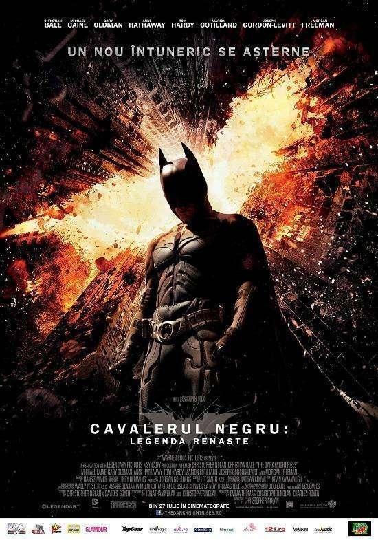 The Dark Knight Rises - Cavalerul negru: Legenda renaşte (2012)