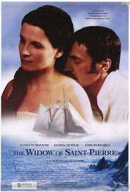 La veuve de Saint Pierre - Condamnați la dragoste (2000)