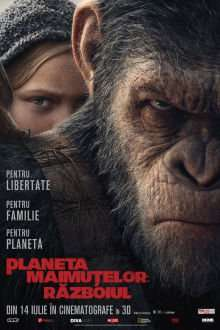 War for the Planet of the Apes - Planeta Maimuţelor: Războiul (2017) - filme online