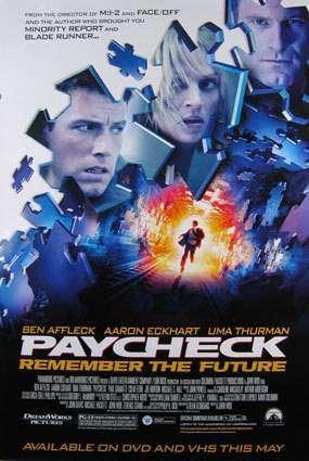 Paycheck – Cecul sau viaţa (2003) – filme online