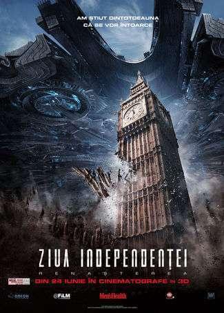 Independence Day: Resurgence – Ziua Independenţei: Renaşterea (2016) – filme online