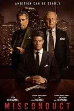 Misconduct (2016) - filme online